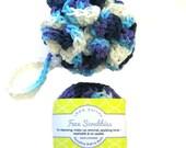 Bath Set, Cotton Crochet Spa Set, Handmade Bath, Bath Pouf, Facial Scrubbies, Make Up Remover Pad
