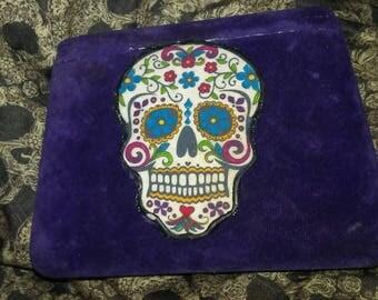 Sugar Skull Trinket Jewelry Box