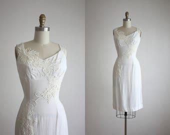 1950s vineyard dress