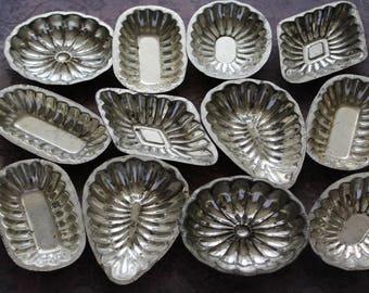 Antique Tart Tins