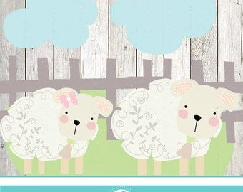 Cute Sheep - COMMERCIAL USE OK