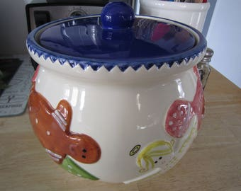Bath & Body Works Holiday 1997 Cookie Jar