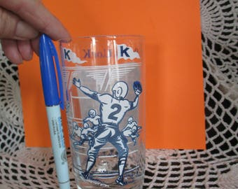 On. On. U. of K.  KENTUCKY College  Song Drinking  Glass