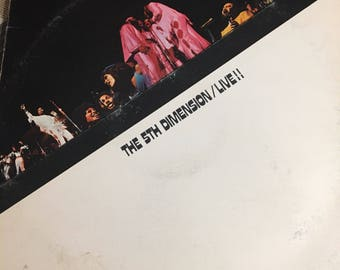 Vintage 5th Dimension Live Record Album