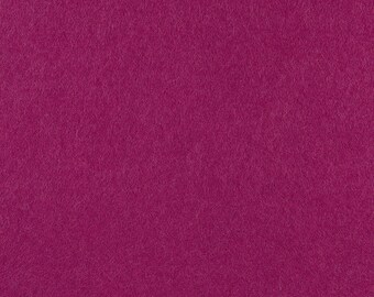 "Violet-Red Acrylic Craft Felt by the Yard - 1/16"" Thick, Available Plain (72"" Wide) or with a Peel-and-Stick Adhesive Backing (36"" Wide)"