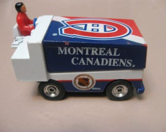 montreal canadiens zamboni  white rose collectibles 1995