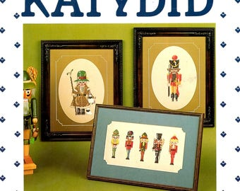 Nutcrackers Volume II Hats Uniforms Boots Counted Cross Stitch Embroidery Craft Pattern Leaflet