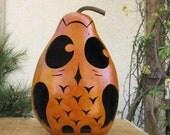 Gourd Owl Primitive Decoration
