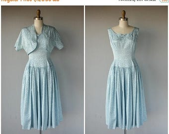 48 HR FLASH SALE Vintage 1950s Party Dress | 50s Dress | 1950s Cocktail Dress | 40s Dress | Vintage 50s Dress