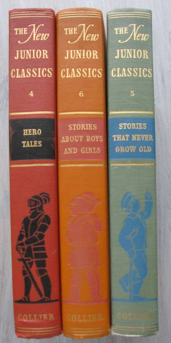from Etsy Green Attic Vintage lot of 3 1949 Books.