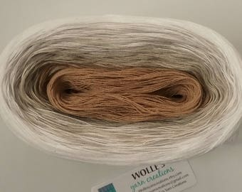 BIRCH II  --  Color Changing Cotton yarn --  480 yards/100 gr --  Fingering Weight