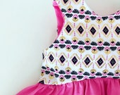New - Dress, Tunic or Cropped top- Gold Love- Toddler/Girls, crop top or dress