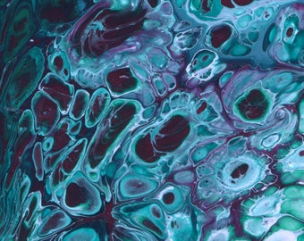 Blue Cells Print