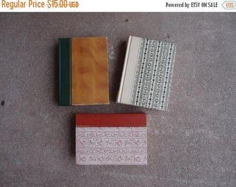 SALE SALE SALE Vintage Hardcover Book Collection Readers Digest Set Five Warm Hues 1960's Home Decor Repurposing Autumn Winter Decorative Ca
