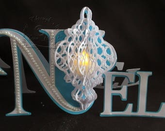 Noel Tea-Light TF0146, SVG,MTC,CAMEO,Scal,ScanNCUT,Cricut