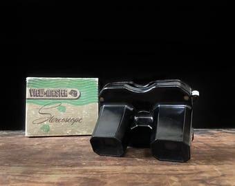Vintage View-Master Stereoscope, Sawyer's View-Master, Retro Toy, 1950s Toy, Original Box