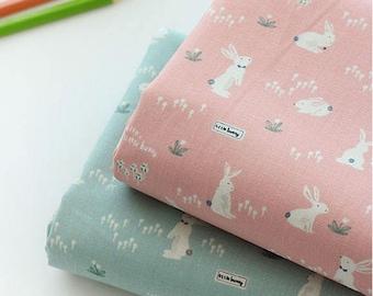 Lovely Rabbit on Cotton, U355