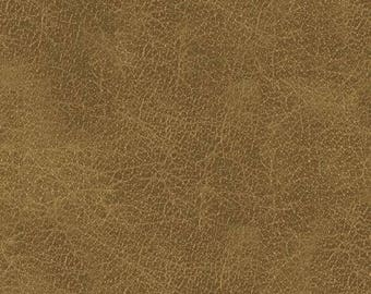 Windham - Cattle Drive - Leather - Brown/Tan - Fabric by the Yard 41784-7