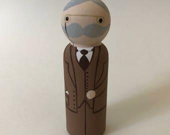 G.K. Chesterton - Wooden Peg Doll
