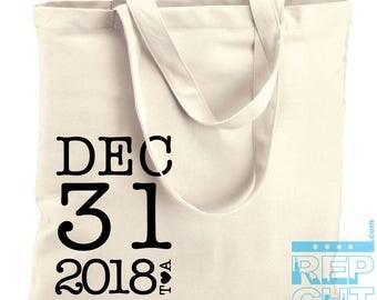 1 Welcome wedding tote bag