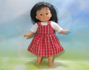 """14 inch toddler doll clothes, Corolle 14 inch doll clothes, Fits dolls like Little Mommy, Corollle 14"""" toddler doll, My Live, 02-2763"""