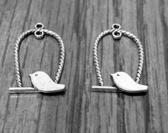 Bird On a Swing Pendants - SALE