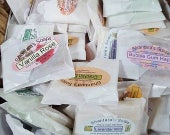 Soap Sampler Packs,  Fifty Soap Samples, Small Soap Samples, Hotel Soaps, Small Soaps, Wedding Favor Soaps, Gift Soaps, Guest Soaps