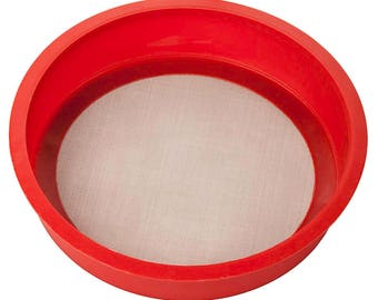 Line Sifter, Stacking Sifter, 60 Mesh Line Sifter, Sifter, Enameling Tools, Cleaning Enamel, Learn how to Enamel, Painting with Fire Enamels