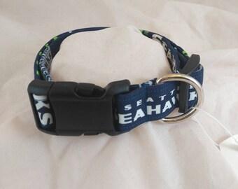 Seattle Seahawk's  Collar, Seahawk's Dog Collar, Seahawk's Cat Collar, Collier de chien, collar de perro,