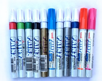 Japanese Uni Paint Markers (medium)