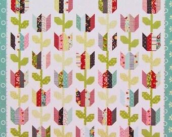 Tulip Quilt Pattern Etsy