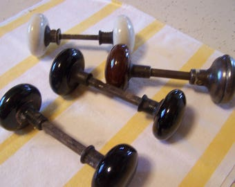 Antique Porcelain Door Knobs antique door knobs | etsy