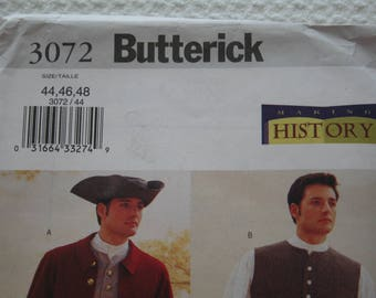 Men's Colonial Costume Butterick 3072