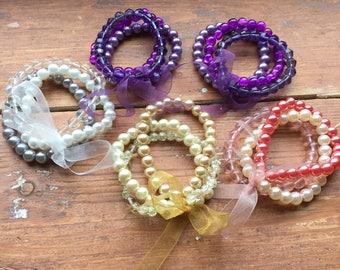 Bracelet Bundle Destash, 5 x sets of bracelets
