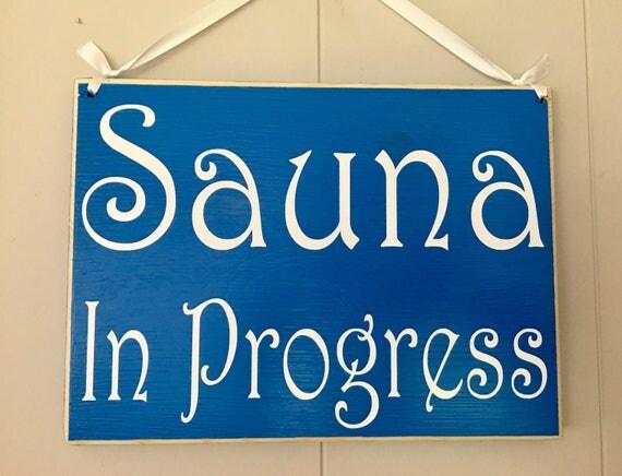 session in progress door sign