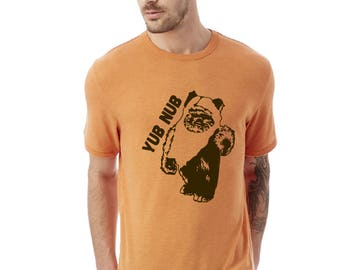 "Star Wars Ewok Shirt ""yub nub""  Fan Ewok shirt - Unisex Star Wars Shirt"