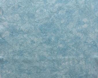 32ct Zweigart Belfast linen - approx 17x26 - light to medium blue