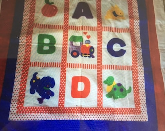 ABC Baby or Child's Quilt