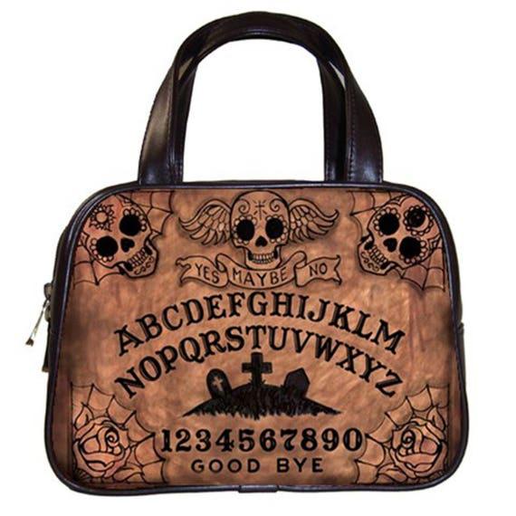 Sugar Skull Ouija Board Handbag