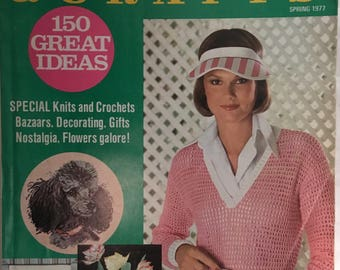 McCall's Needlework and crafts 1977