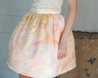 SKIRT PLEATED short Nani Iro Constellation