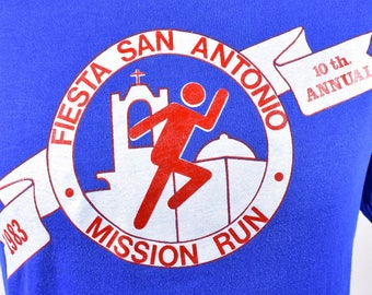 1983 Fiesta San Antonia Mission Run - Pearl Light Beer, Size Large, 50/50 Polyester/Cotton