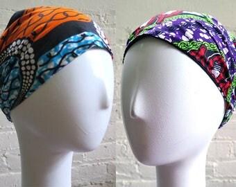 Mommy's Wide Headband for Hair REVERSIBLE Beach Bandana Scarf - Hairband Headband - Hair Accessory -  Hair Scarf Yoga Headband - Headwrap