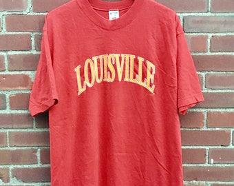 Vintage Louisville Tee Shirt - Large/XL