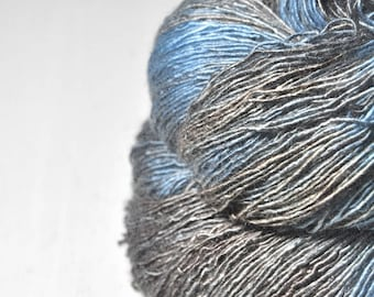 Left high and dry - Tussah Silk Fingering Yarn