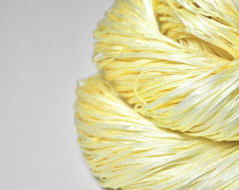 Freshly squeezed lemons - Silk Tape Lace Yarn - SUMMER EDITION