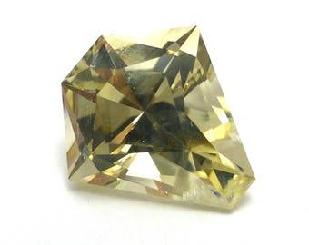 Oregon Sunstone Loose Gemstone Schiller USA Fancy Cut Handmade AAA Grade Viking Yellow Sparkle Aventurine Feldspar Natural Engagement Ring