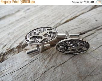 ON SALE Cufflinks handmade in sterling silver