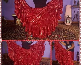 Alchemy 25yd Liquid Metals Skirt ~ Miss Scarlet