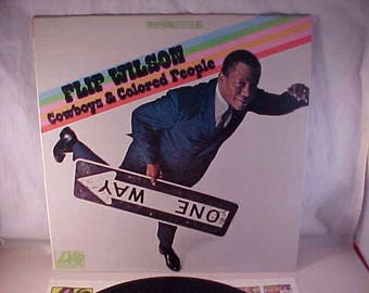 Flip Wilson - 33 LP - Cowboys & Colored People